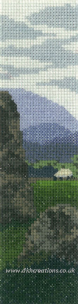Sheep At Castlerigg  Cross Stitch Kit